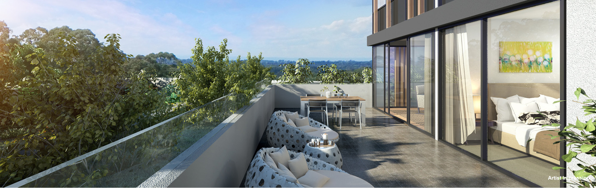 One Avon Apartments For Sale Cbre Residential Projects New South Wales Pymble Nsw 2073